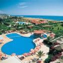 Uitzicht op zee in Hotel Royal Vikingen Alanya