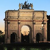 Arc de Triomph weekend Parijs